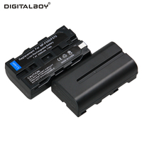 Hot Sale 2pcs Battery NP F550 NP F330 NP F550 NP F330 Rechargeable Camera Battery
