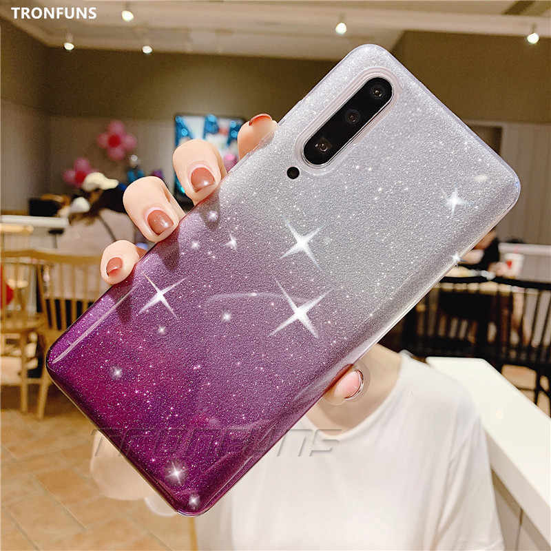 Glitter Soft Silicone Case For Samsung Galaxy A50 A30 A40 A20 A10 A60 A70 M10 M20 Bling Cases For Samsung A 30 A 50 Cover Fundas