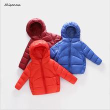 Niemowlę dziewczyny płaszcz jesień zimowe ocieplane kurtki dla dzieci kurtki dla chłopców i dziewcząt dzieci ciepłe kurtki płaszcz dla kurtka dla dzieci noworodka ubrania tanie tanio W dół i parki Batik cotton REGULAR D0054 Z kapturem Unisex 0 18kg-0 36kg Alisenna Pasuje prawda na wymiar weź swój normalny rozmiar