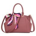 Women Handbag Luxury Handbags Women Bags Designer PU Leather Tote Vintage Women Bag Ribbons Hanbags High Quality Shoulder bags