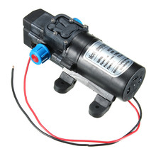 1PCS DC12V 80W 0142 Motor 5.5L/Min High Pressure Diaphragm Water Self Priming Pump Easy to install