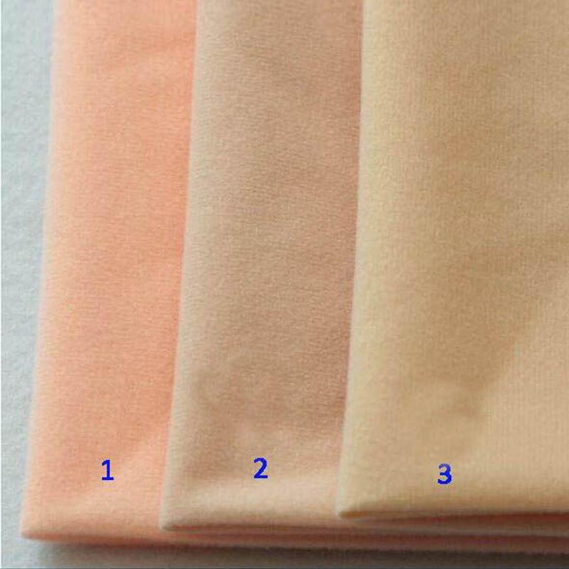 3db / Lot 50 * 50cm Patchwork Soft Bady szövet vastag baba bőr szövet nagy sűrűségű nap fegyverek számára