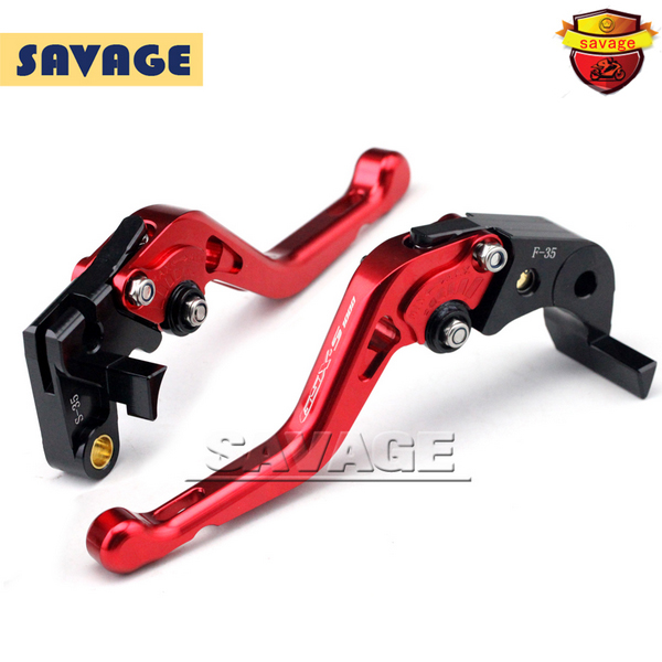 For SUZUKI GSX-S1000 GSX-S 1000 1000F 2015-2016 Red Motorcycle CNC Billet Aluminum Short Brake Clutch Levers Logo GSX-S1000 for suzuki gsx s1000f gsx s1000 2015 2016 motorcycle accessories short brake clutch levers logo gsx s1000 blue