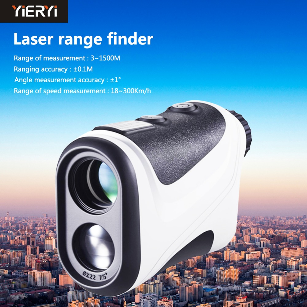yieryi New BH-1500 High Quality 1500M Laser Distance Meter Range Finder Rangefinder Handheld Diastimeter 0.5M (within 600M) high quality southern laser cast line instrument marking device 4lines ml313 the laser level