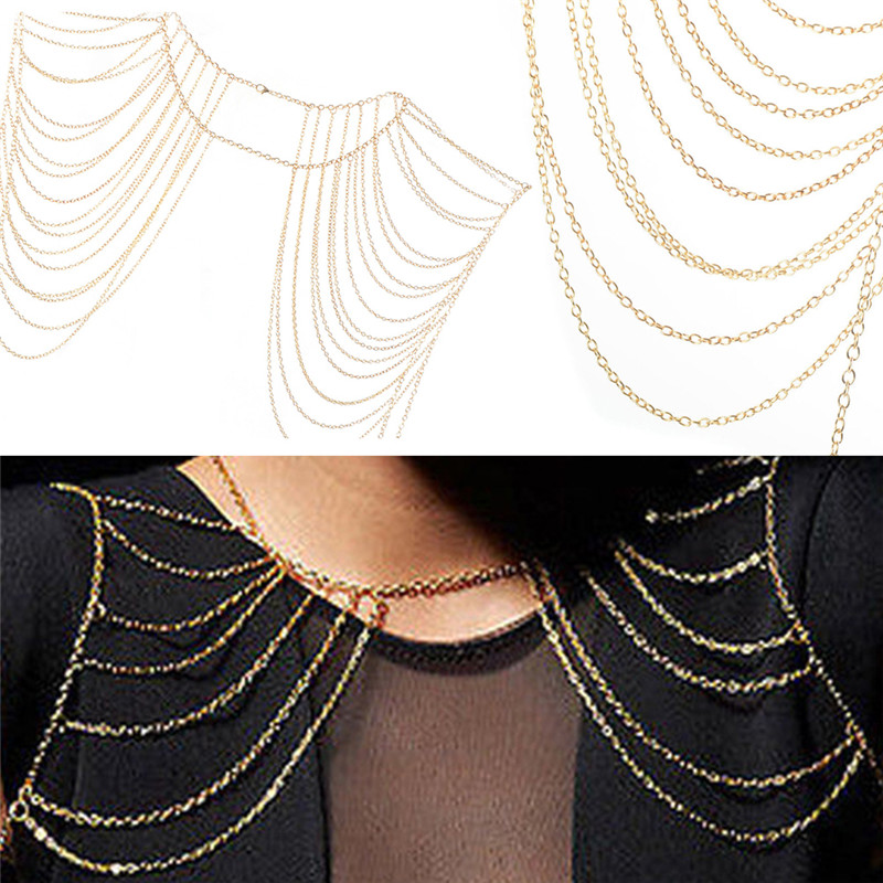 HTB1lVx6gyQnBKNjSZFmq6AApVXaL Vintage Bohemian Necklaces Collar Shoulder Chain Long Necklaces