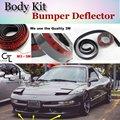 Bumper Lip Lábios Para Ford Probe MK2 Defletor 1992 ~ 1997 Spoiler Dianteiro saia Para Os Fãs de TopGear Opinião Do Carro Tuning/Body Kit/tira