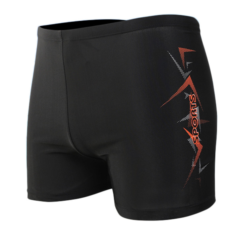 Elastic-Pants Boxer-Trunks Swimming Sports Stretch 4zg Head Nino Banador Built-In-Ropes