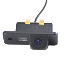 520TV lines 120 Waterproof Car Auto Rear View Rearview Camera Reverse Backup License Plate For Audi A3 A4 A5 RS4