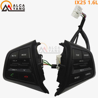 Malcayang For Hyundai Ix25 Creta 1 6L Steering Wheel Cruise Control Buttons Remote Control Volume Button
