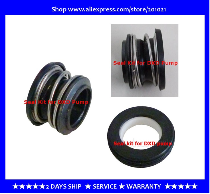 Mechanical seal kit  fitting for pump DXD-1, DXD-2, DXD-8, DXD 'Marlow' DXD-310, DXD-312, DXD-315, DXD-320, DXD-330, DXD-340 spa pump mechanical seal kit for lx brand pump