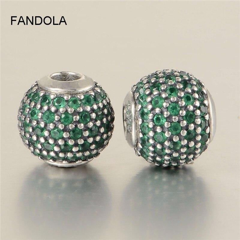 76bec8329f2b Auténtica Plata de Ley 925 DE LA PROSPERIDAD Esencia de perlas se adapta  esencia colección pulseras del encanto de la joyería de moda DIY mujeres  regalos
