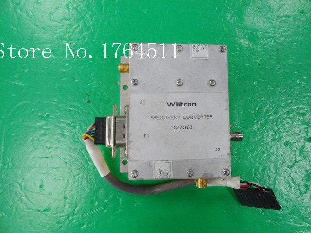 [BELLA] WILTRON D27063 Radio Frequency Converter SMA