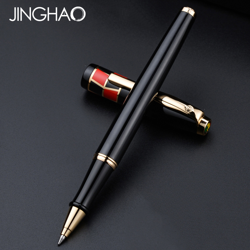Exquisite Gift Writing Stationery Pimio 923 Rollerball Pen Good Writing Metal 0.7mm Black Ink Sign Pens with an Original Box
