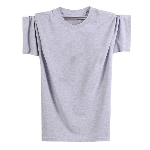 57aa47092 Cotton clothing large yards loose men summer pure white blue black ...