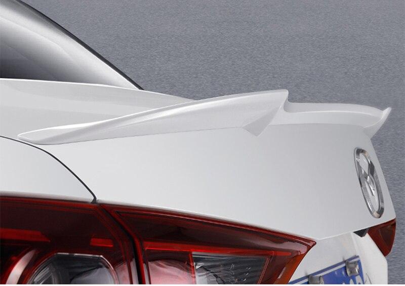 Voor Mazda 3 Axela 2014 2015 2016 2017 Auto Tail Wing Decoratie ABS Plastic Verf Schilderen Kleur Kofferbak Spoiler m4 stijl - 2