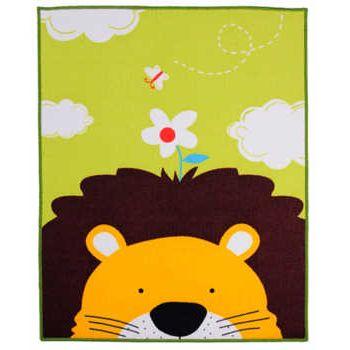 Joli Lion enfants tapis enfants tapis 39x51 pouces dessin animé Animal tapis bébé ramper tapis bébé ramper Pad/tapis de jeu