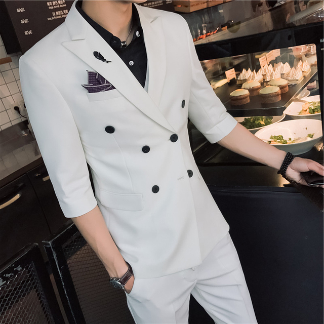 Custom Made Black Slim Fit Men Wedding Suite Groom Tuxedos Suits Herringbone Retro Gentleman Suits Formal Party Suits