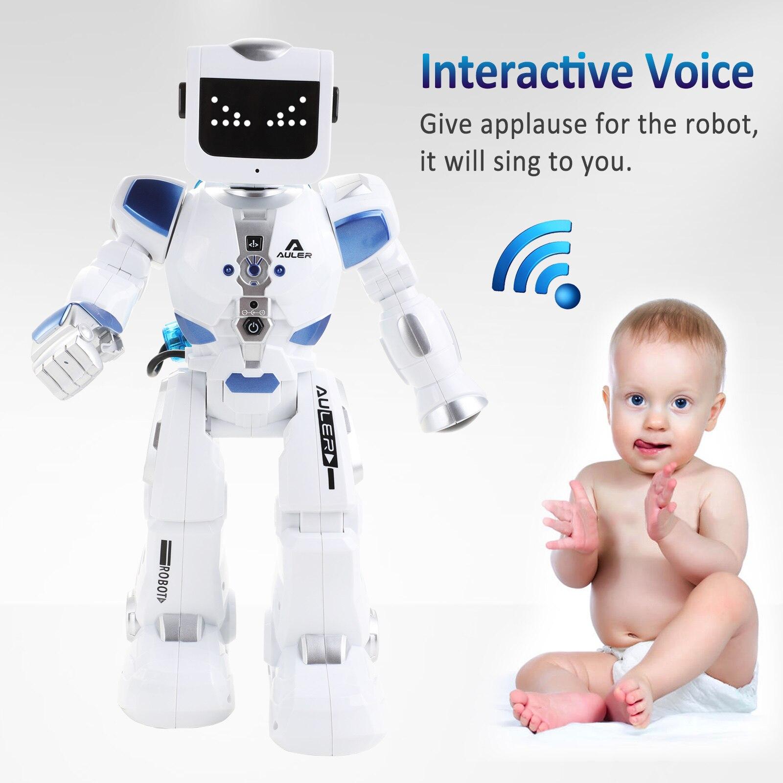 Intelligent Intelligent Alpha Robot K3 hydroélectrique hybride Intelligent Robot RC/contrôle du son chantant danse Robot cadeau pour enfants