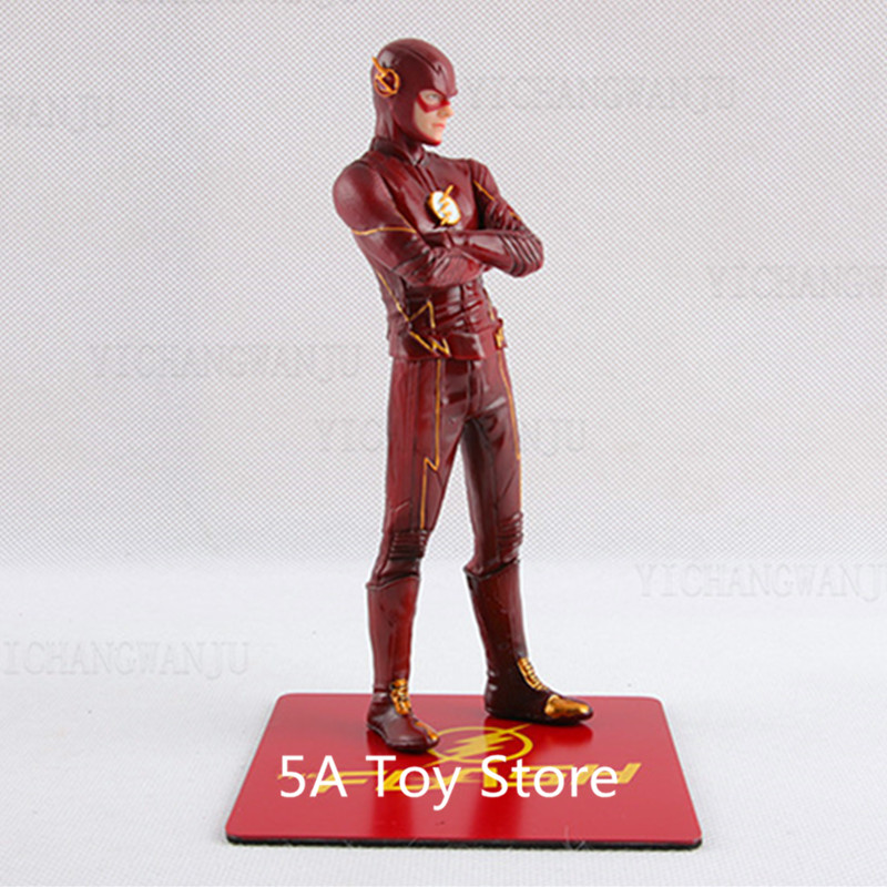 STATUE DC 1//10 Scale Pre-Painted PVC Figure Model Toy Gift New THE FLASH ARTFX