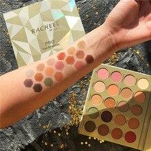 Brand 20 Colors Eyeshadow Pallete Diamond Glitter Shimmer Matte Eyeshadow Palette Pigmented Foiled Warm Makeup Eyeshadow Palette недорого