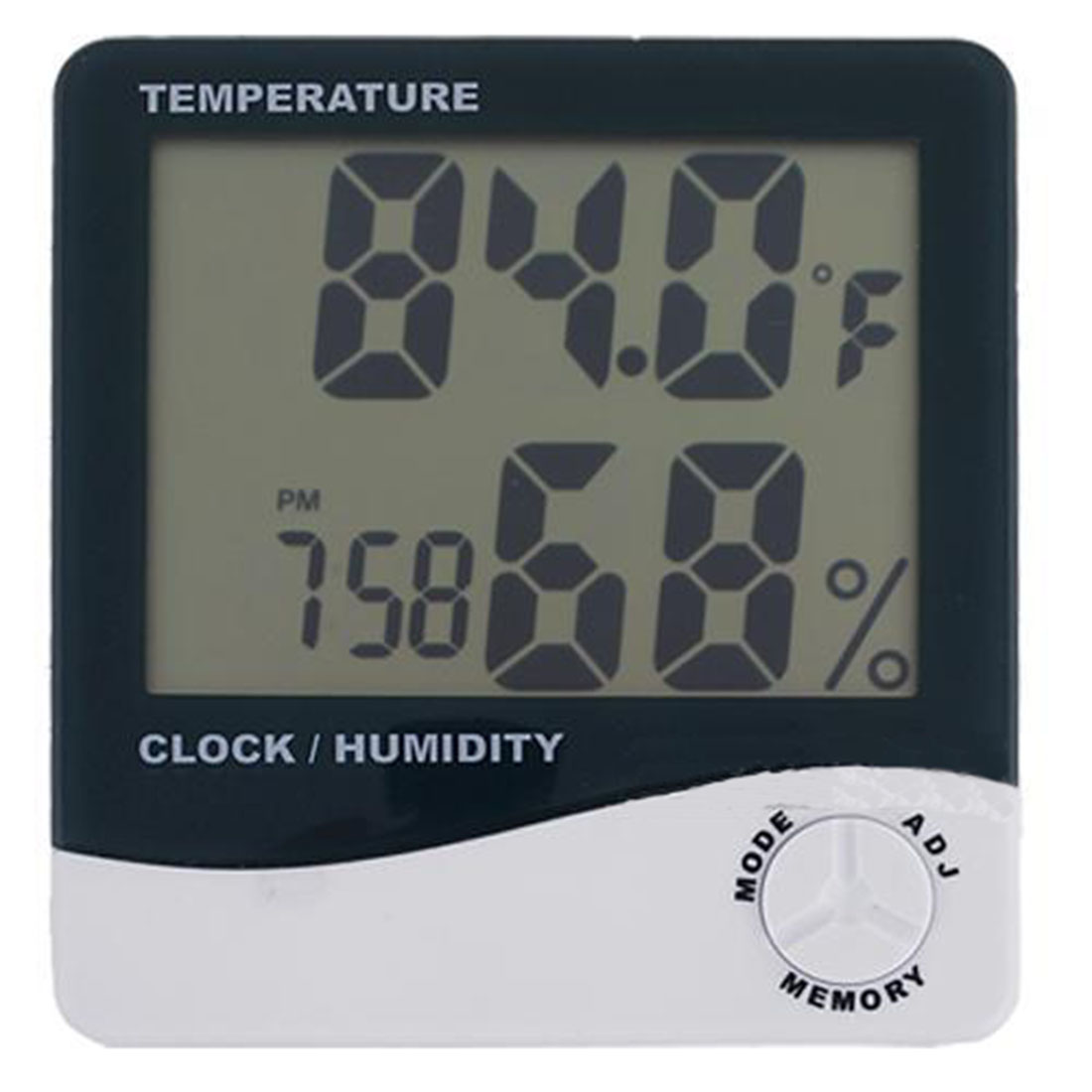 Indoor Room LCD Electronic Temperature Humidity Meter Digital Thermometer Hygrometer Weather Station Alarm Clock HTC-1 цена