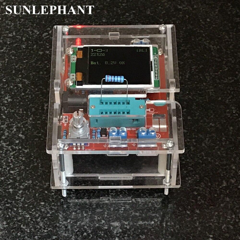 Only Case Digital ESR Meter GM328 Transistor Tester ESR Meter case DIY Box For GM328 Transistor