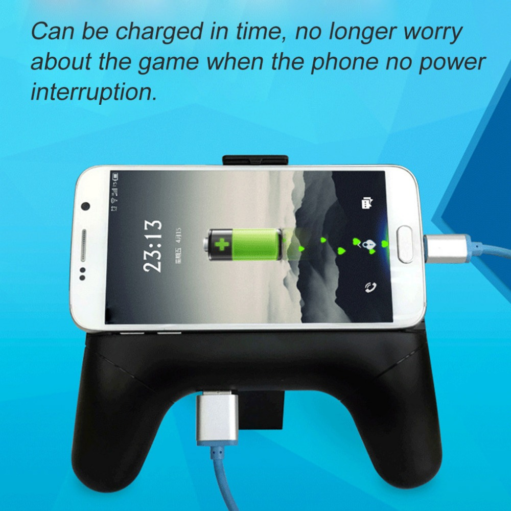 Game coolers portable - Universial Mobile Phone Cooler Cooling Fan Radiator Handle Game Pad Clamp Clip Mount Holder Smart Phone Holder For 4 6 Phone In Fans From Consumer