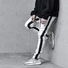 Модная мужская одежда, брендовая Спортивная одежда для фитнеса, повседневные мужские брюки для бега, бодибилдинга, мужские брюки, трендовая уличная одежда