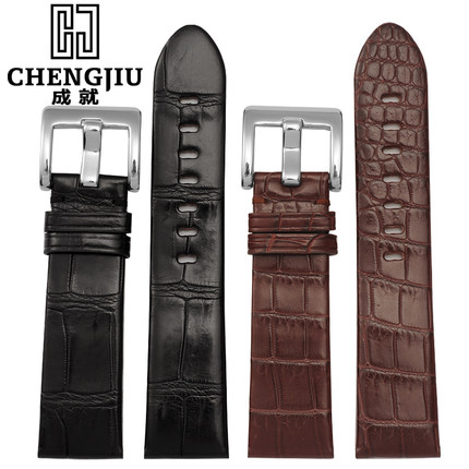 High Quality Crocs Watchband For Mont Blanc/Star/36065/ Timewalker 22mm Leather Watch Strap Belt Bracelet Correas Reloj Orologi mont blanc femme individuelle