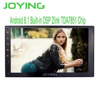 JOYING Double 2 Din Head Unit GPS Navigation 7 Intel Octa Core Android 8.1 Universal Car Radio Cassette Stereo Car DVD Player