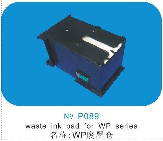 ФОТО PROCOLOR T6712 maintenance tank for EPSON WP-8010 WP-8090 WF-8090 WP-8510 Wf-8510 WP-8590 Wf-8590 WP-R8590 WF-R8590 with chip