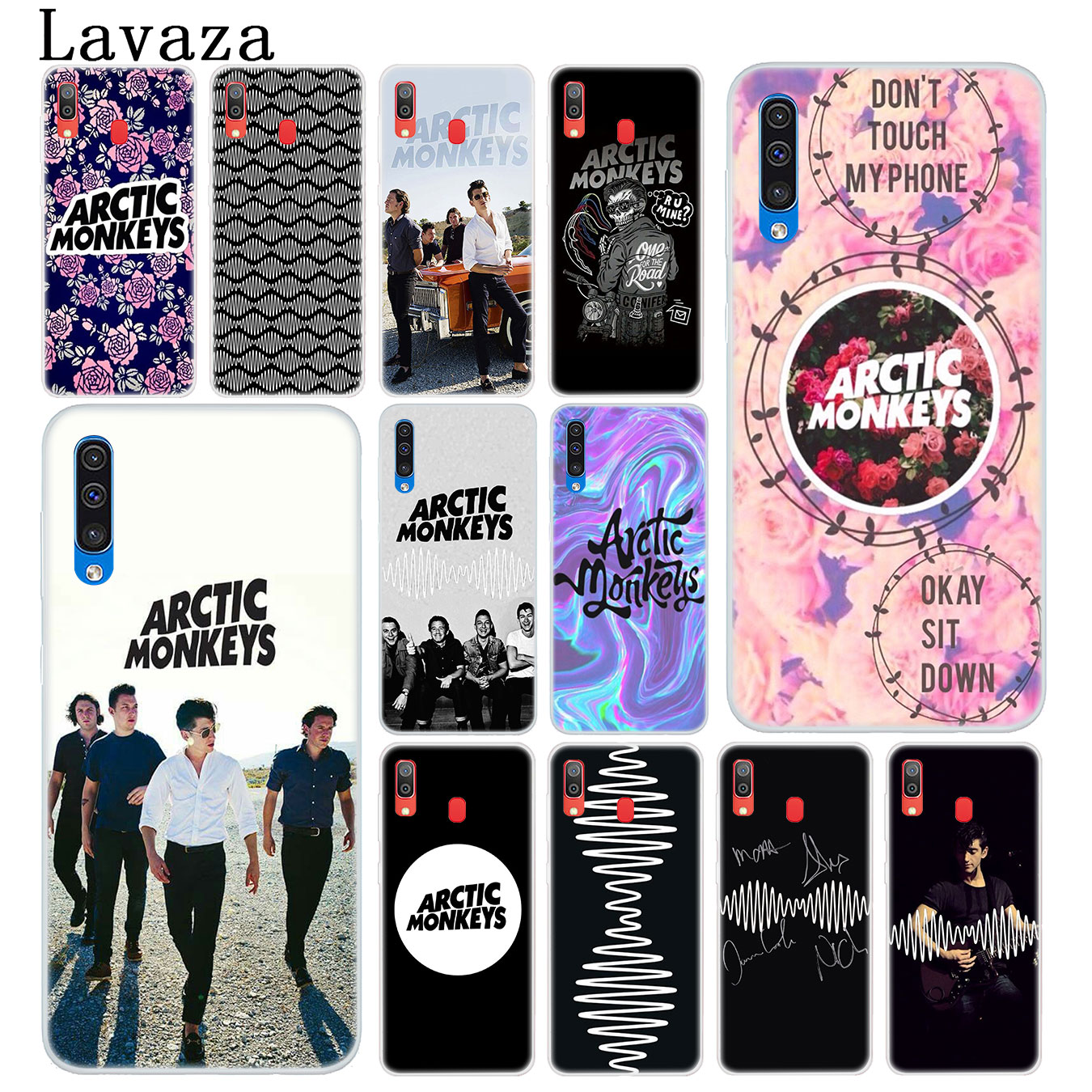 Half-wrapped Case Beautiful Lavaza Arctic Monkeys Cute Hard Transparent Phone Case For Samsung Galaxy A10 A30 A40 A50 A70 M10 M20 M30 Cover Cheap Sales 50% Phone Bags & Cases