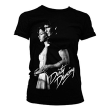 Dirty Dancing - John Baby Tshirt Black Cotton New s T-Shirt Tee Casual  O-Neck  Broadcloth все цены