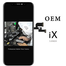 For iphone X LCD For TFT Tianma AMOLED OEM Quality Display Digitizer Touch Screen Assembly with Tools(China)