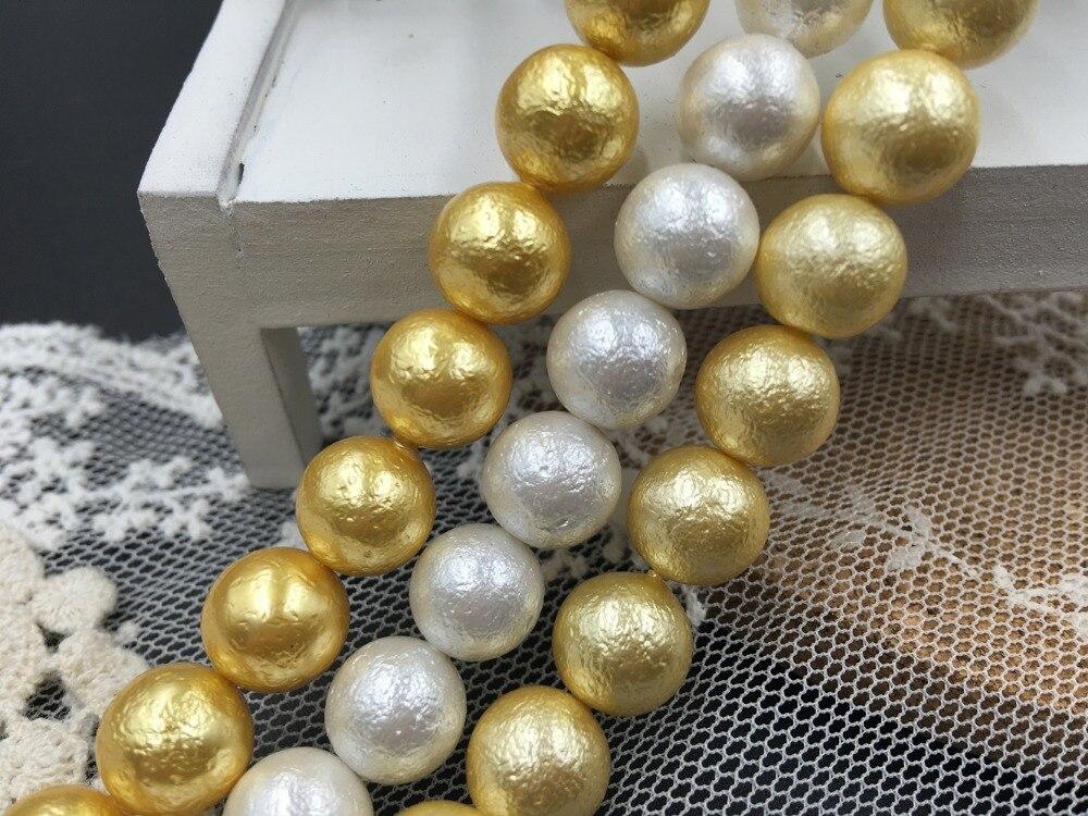 """Chip de concha colorido teñido joyería del grano Strand Craft Suelto Collar haciendo bricolaje 32/"""""""