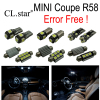 12pc X Canbus Error Free LED Interior Dome Reading Light Lamp Kit Package For MINI Cooper