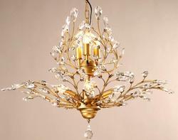 Retro loft amerykański w stylu vintage kryształowy żyrandol nabłyszczania de cristal dekoracja wnętrza domu oświetlenie livign pokoju sypialnia światła