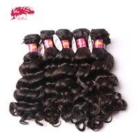 Ali queen hair Products Оптовая цена, бесплатная доставка, 10 шт./партия, натуральные Малазийские Волосы