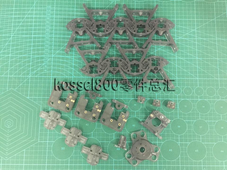 3D printer parts Reprap Delta Kossel K800 magnetic plastic injection model parts kit set