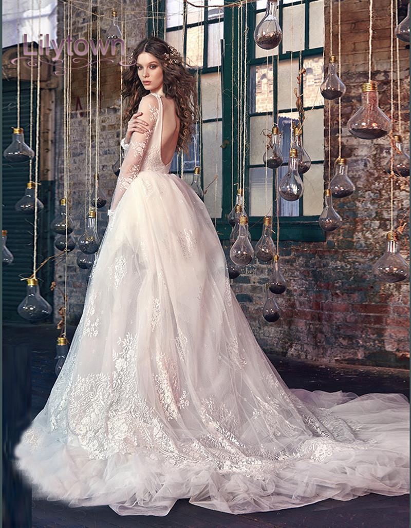 top 10 wedding dress trends for plunging neckline wedding dress Plunging Neckline Wedding Dresses