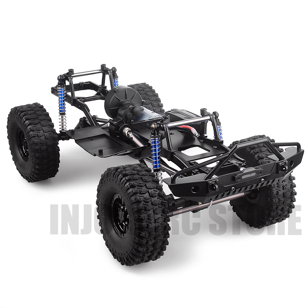 313mm Wheelbase RC Crawler 12 3inch Frame Chassis for 1/10 RC Climbing Car  SCX10 II 90046 90047