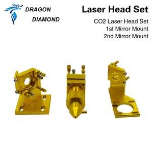 Image 5 - K40 serie: CO2 Laser Testa Set Incisore Laser per 2030 4060 K40 Incisione Laser Macchina di Taglio