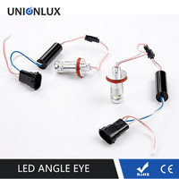 No Error LED Angel Eye Red H8 Bulb Halos Lights 07 11 Xenon White Headlights 335i E92 E93 328i M3 M6 E60 E93 E87 LED Marker