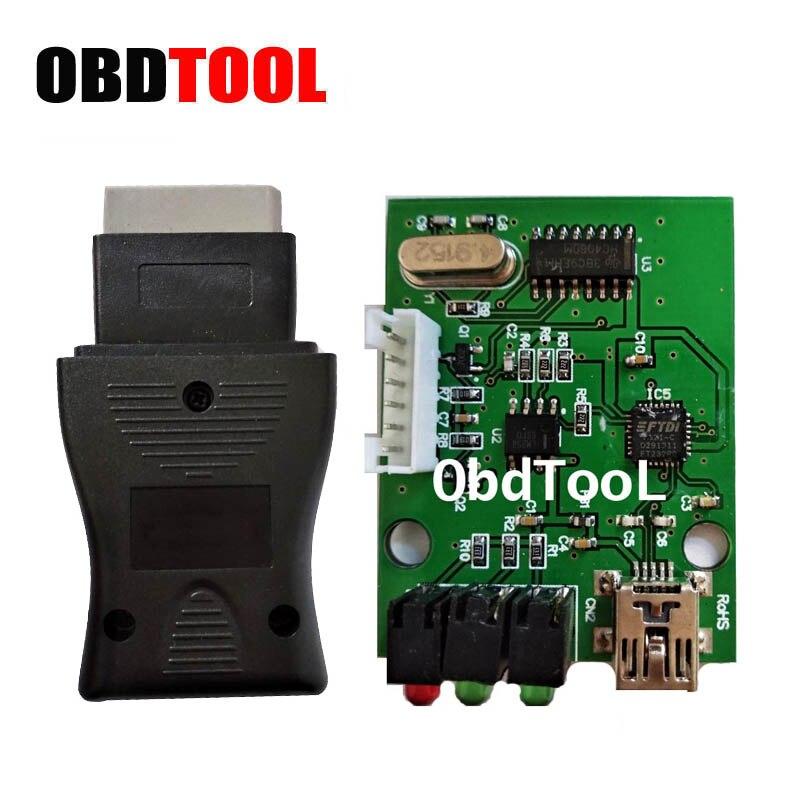 FTDI Chip NS 14pin Interface USB para Nisan 14 pin Cnsult OBD Cabo De Diagnóstico Do Carro Scanner OBD2 Conectar ao PC via RS232 JC10