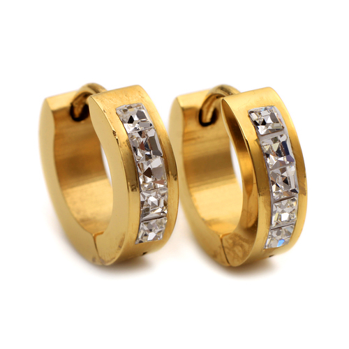 Mens female Jewelry wholesale Stainless Steel Mens Earrings E350