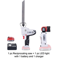 Keinso/newone 12V power tools Reciprocating Saw and led light with one lithium battery and one charger