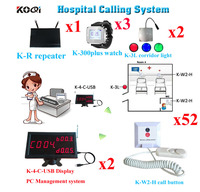 Wireless Nurse Calling System With Best Price Of 433.92MHZ Full Equipment Free DHL Shipping