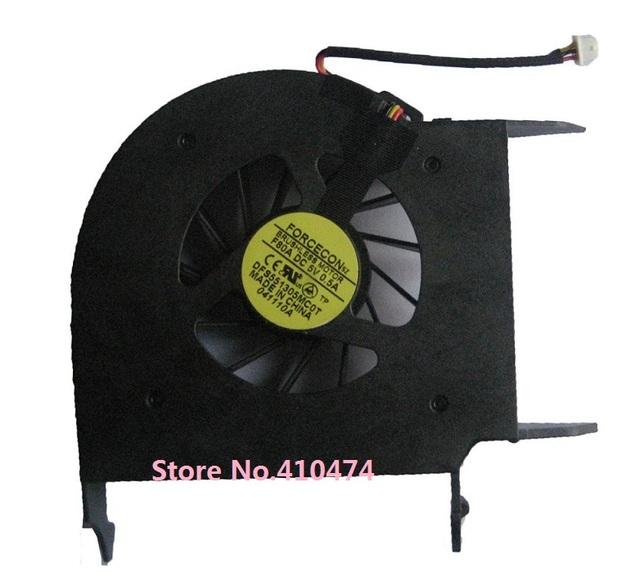 Nueva cpu del ordenador portátil cooler fan para hp dv6 dv6z dv6z-110 dv6-1000 1100 dv6-1200 portátil dfs551305mc0t f80a