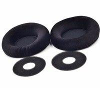 Velour Velvet Ear Pad Cushion EarPads Foam Disk For AKG K701 K702 Q701 Q702 K601 K612