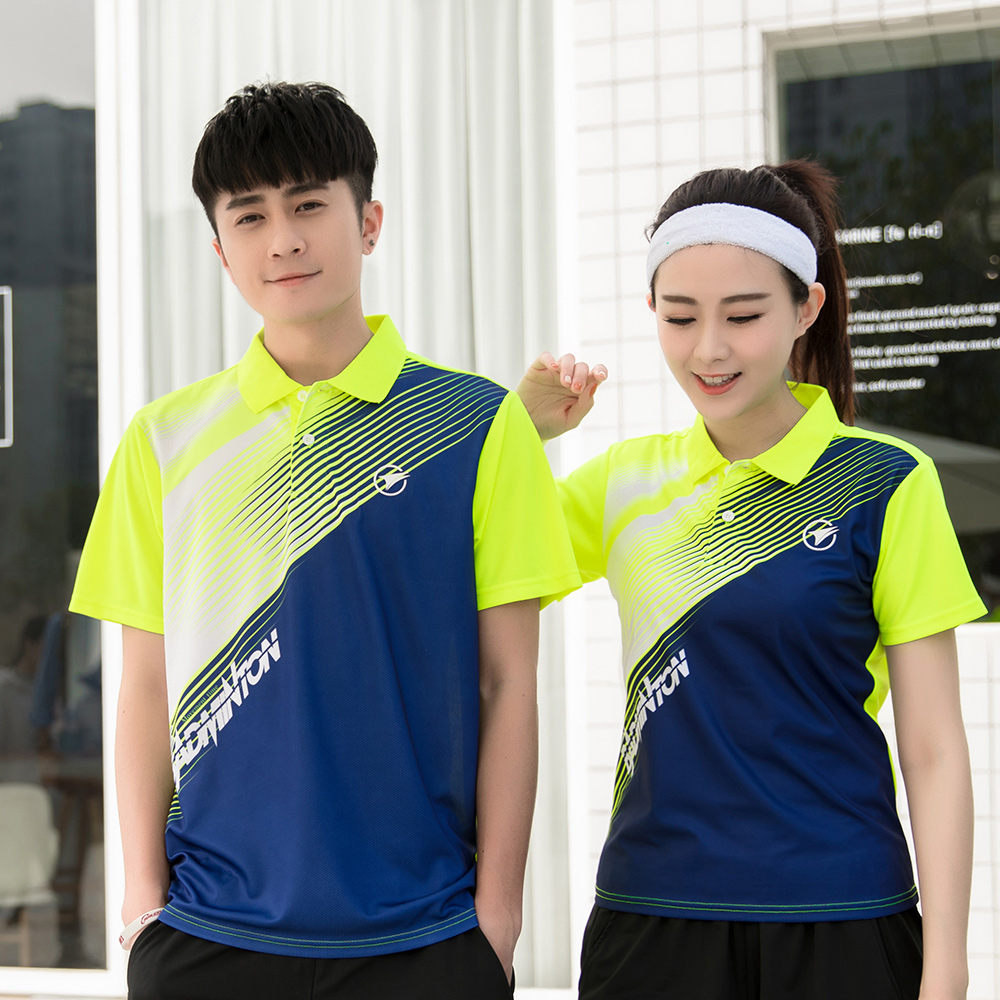Free Print New Quick dry Badminton sports shirt, Tennis shirt Male/Female ,Tennis T-shirts, Badminton Table Tennis Jerseys A115